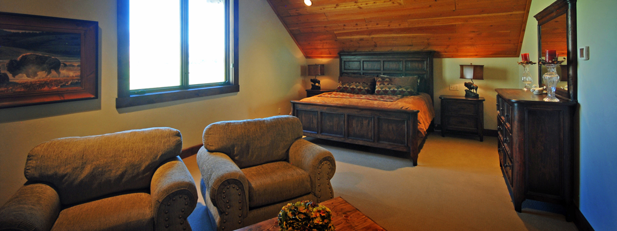 Suite at Montana Luxury Fishing Resort on the Big Hole River