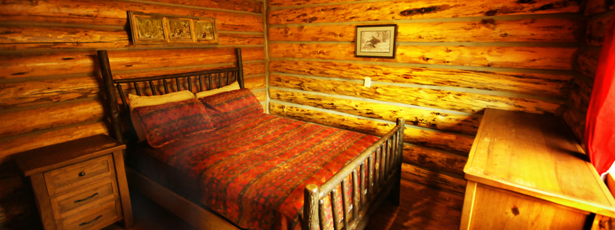 Montana Fly Fishing Cabin, Copper John Queen Bedroom, cabin on the Big Hole River Montana