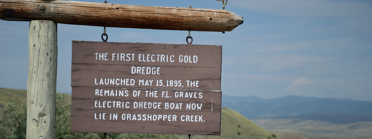Bannack Grasshopper Creek Electric Dredge