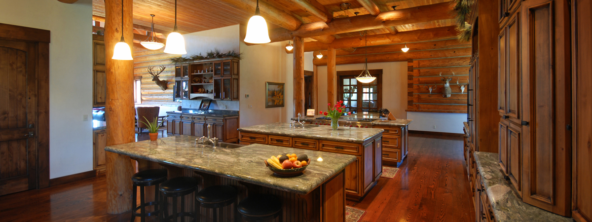 Montana Luxury Lodge - a dream chef's kitchen