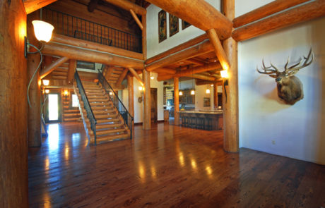 Luxury Resorts Montana, Silver Bow Club Grand Stairway