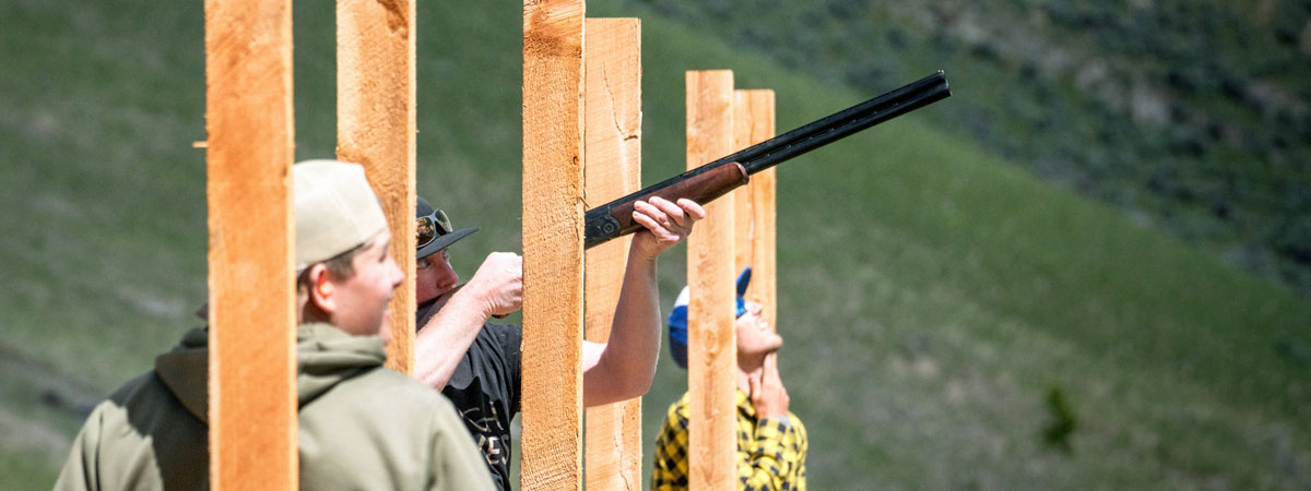 Montana Trap Shooting at-the-Silver-Bow-Club