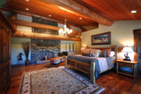 Montana Luxury Resort Suite with Fireplace
