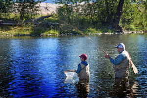 Guided Fly Fishing on the Big Hole River in Montana