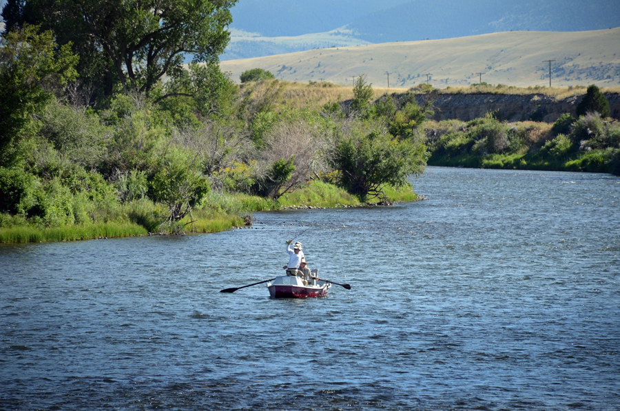 Fly fishing in montana on the big hole river at the silver for Madison river fly fishing
