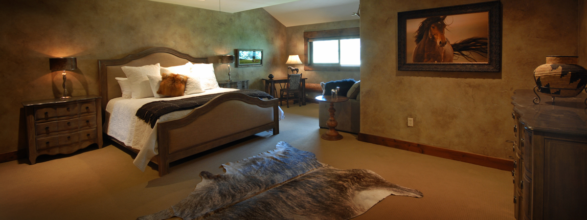 Suite at a Montana Luxury Resort on the Big Hole River