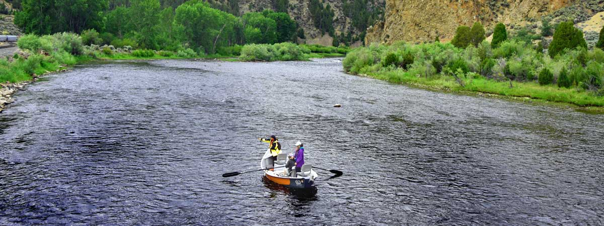 Fly fishing the Big Hole River in Melrose Montana