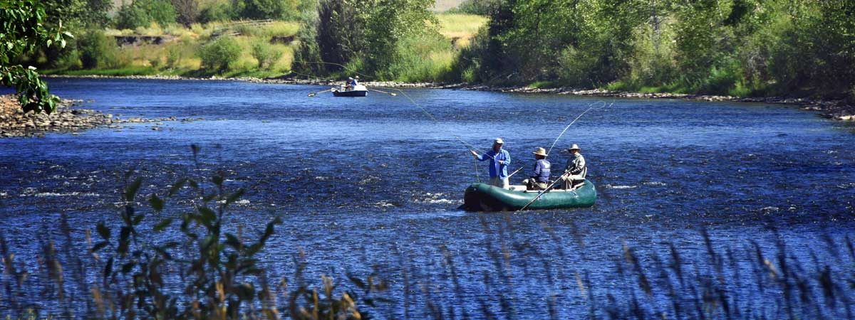 Big Hole River Fly Fishing near Maiden Rock Canyon Montana