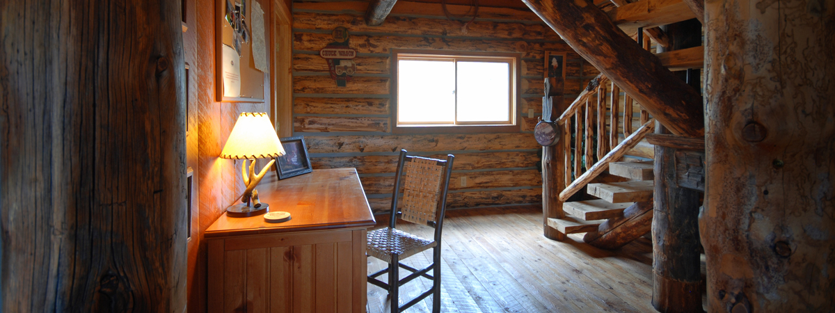 Montana Fly Fishing Cabin, Copper John Hall, cabin on the Big Hole River Montana