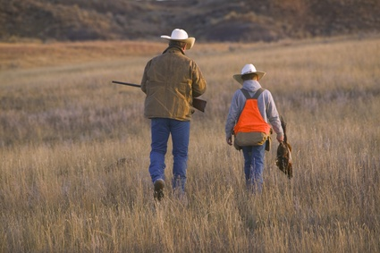 Pheasant Hunts Father and Son Pheasant Hunting in Montana