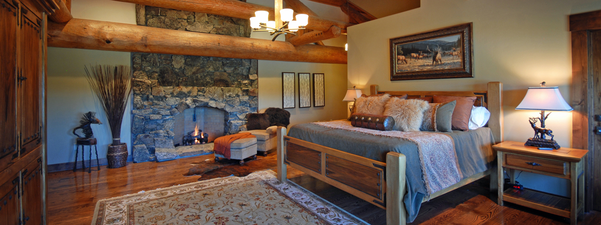 Montana Luxury Resort - Luxury suite at Fly Fishing Resort in Montana