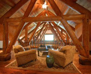 Luxury Resorts Montana, 2nd Floor sitting area at the Silver Bow Club in Montana
