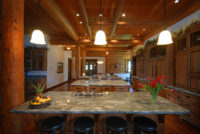Luxury Resorts Montana, Lodge Kitchen at the Silver Bow Club in Montana