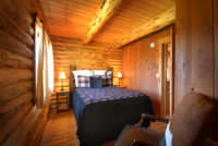 Montana Fly Fishing Cabin, Salmonfly Cabin Bedroom on the Big Hole River