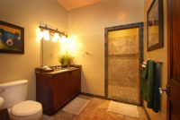 Luxury Resorts Montana, Bathroom of the Trout Room at the Silver Bow Club Montana