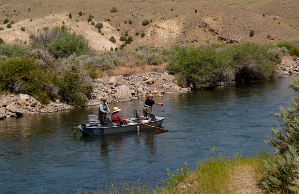 Beaverhead river fly fishing in montana at the silver bow club for Dillon reservoir fishing
