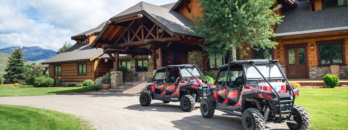 Luxury Montana Resort - ATV Tours at the Silver Bow Club