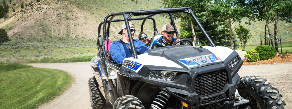 Montana ATV tours at all-inclusive Montana luxury resort