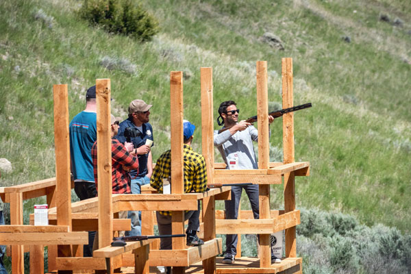Montana Trap Shooting at the Silver Bow Club