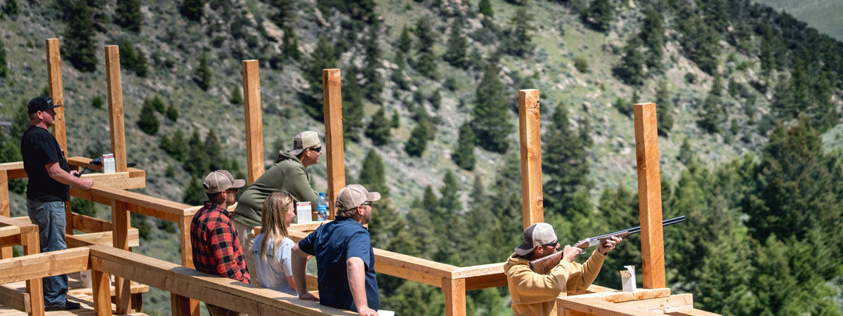Montana Trap Shooting on Big Hole River