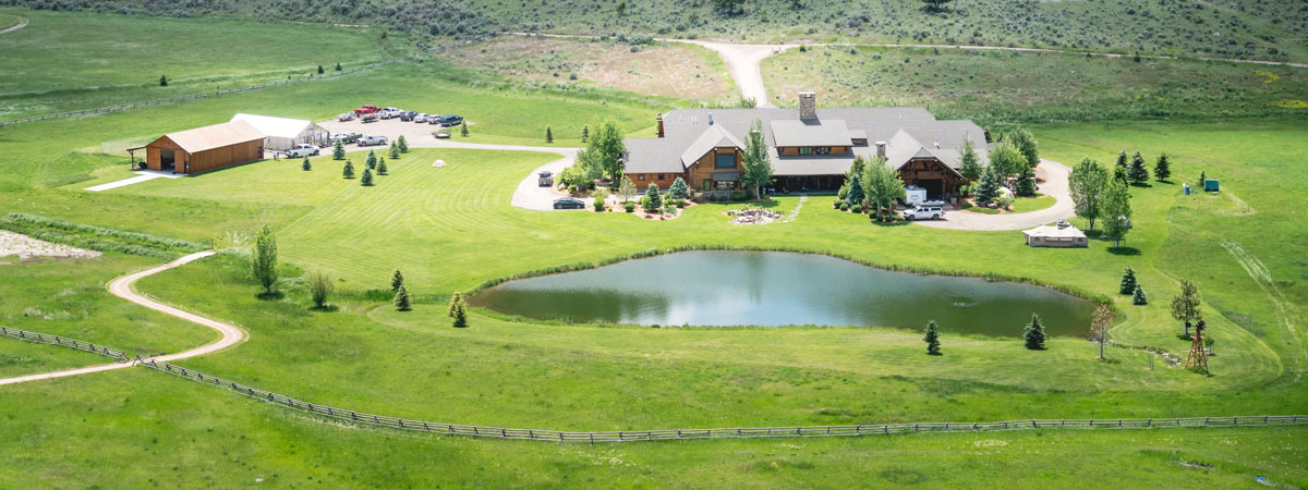 Luxury Montana Fishing Resort - Silver Bow Club Aerial Photo Flights-Big-Hole-River