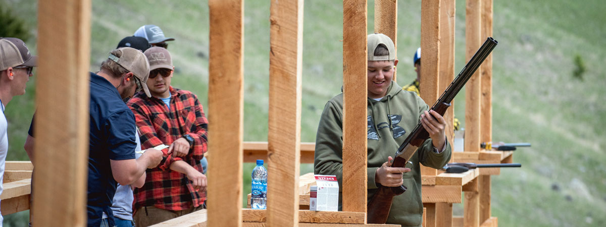 Trap Shooting in Montana Luxury Montana Fishing Resort