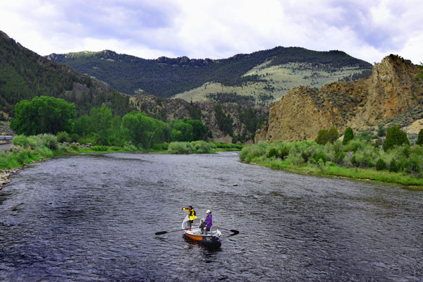 Montana Cast and Blast Big Hole River Fishing Trip