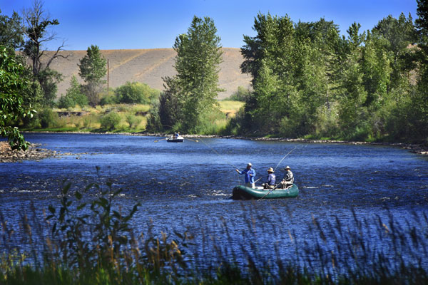 Montana Fly Fishing Resort on the Big Hole River