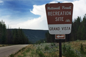 The Grand Vista on the Pioneer Scenic Byway in Montana