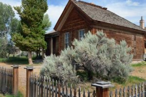 Deserted at Bannack Ghost Town in Montana