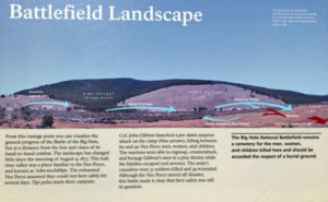 Big Hole Battlefield Interpretive Sign