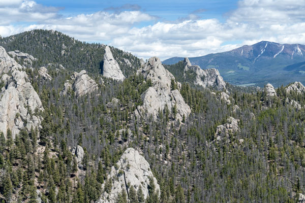Hiking Humbug Spires in Montana