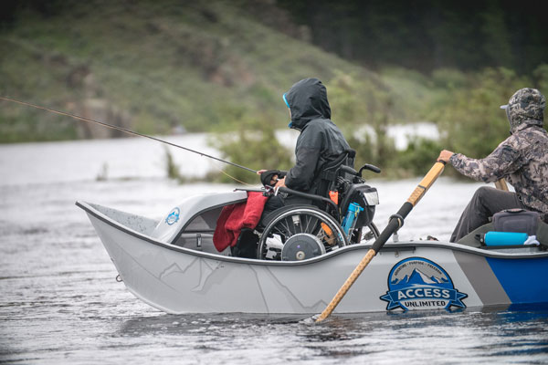 Fly Fishing with Access Unlimited