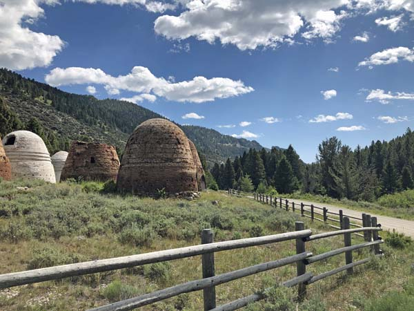 Entrance to Charcoal Kilns in Montana