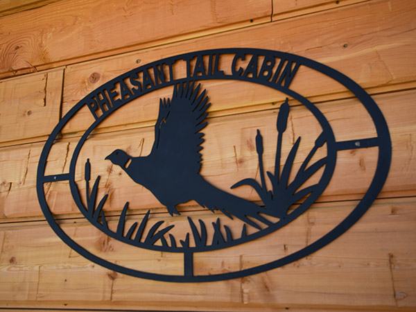 Pheasant Tail Cabin on the Big Hole River